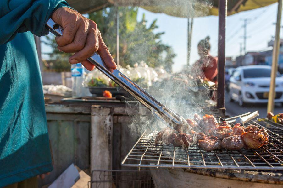 Laos barbecue bbq