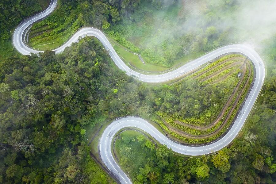 Maleisië cameron highlands weg selfdrive 2