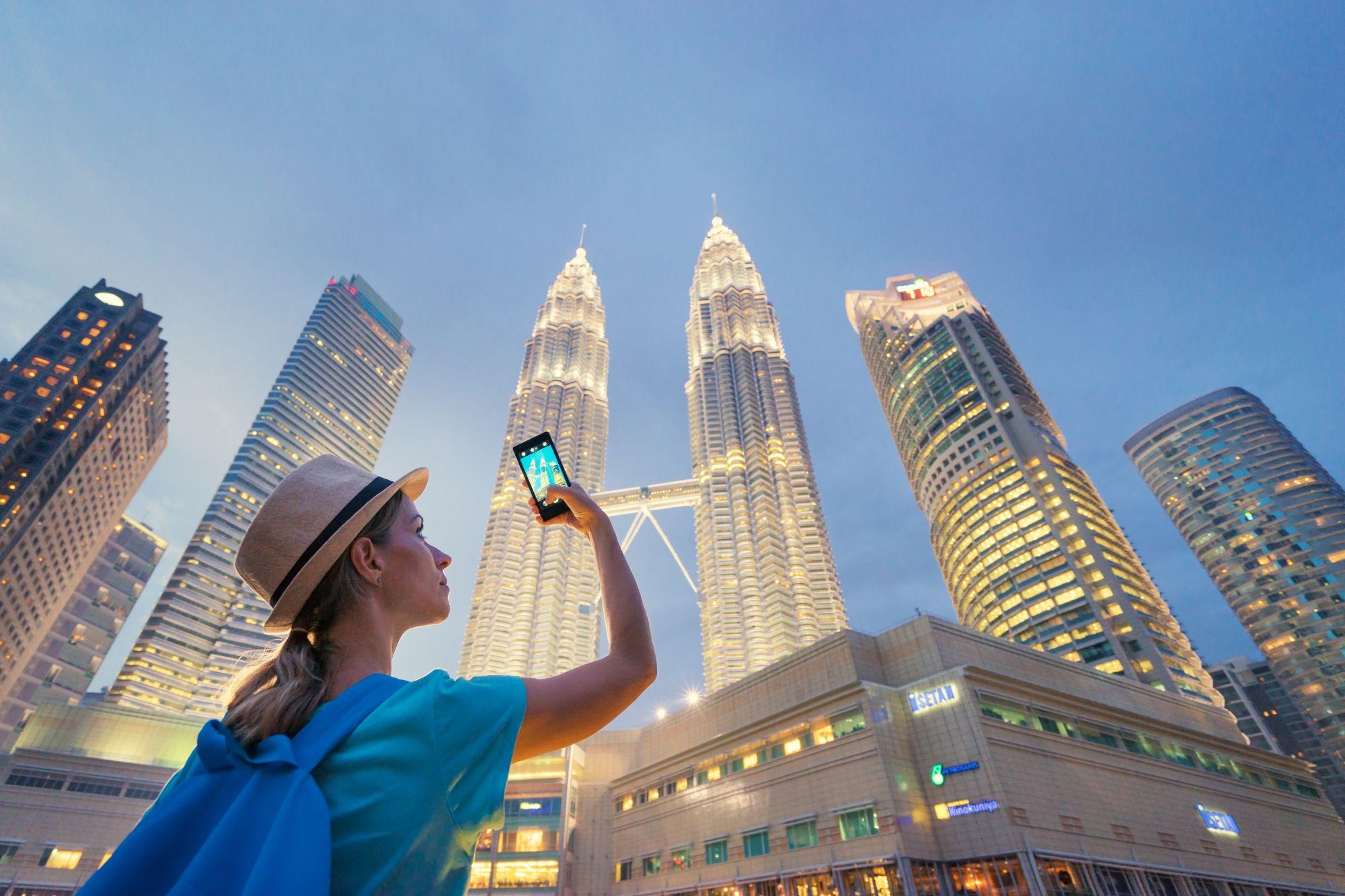 Maleisie Kuala Lumpur Petronas Towers