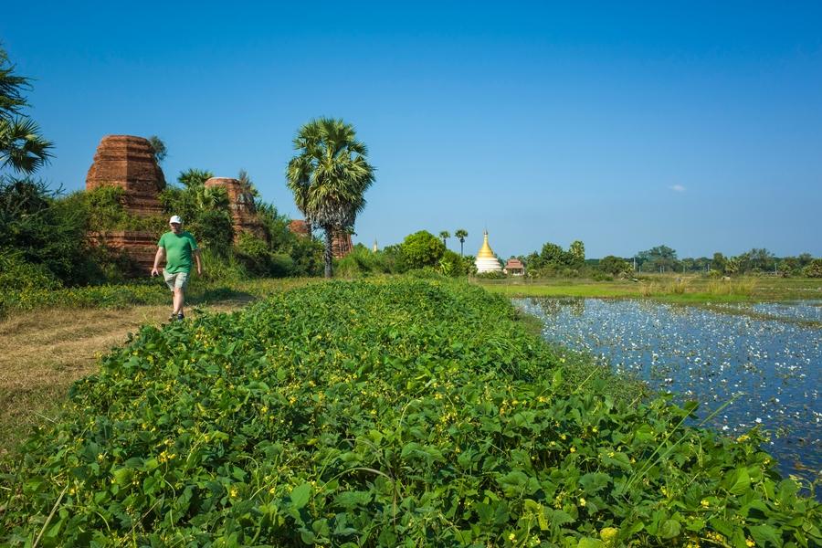 Myanmar Mandalay Bagan cruise in Ava