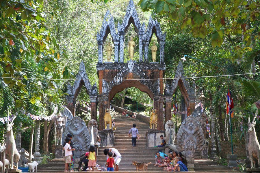 Phnom Koulen Cambodja