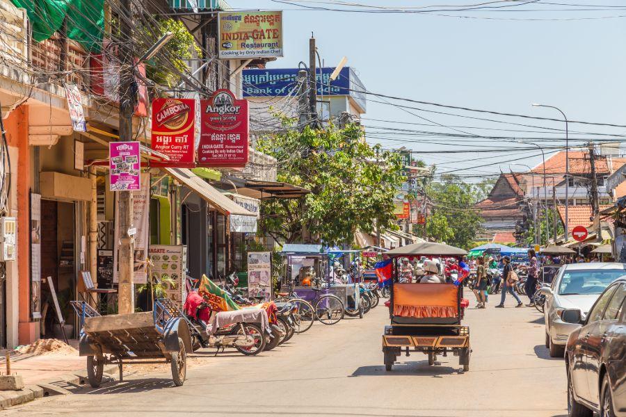 Siem Reap Stad 4