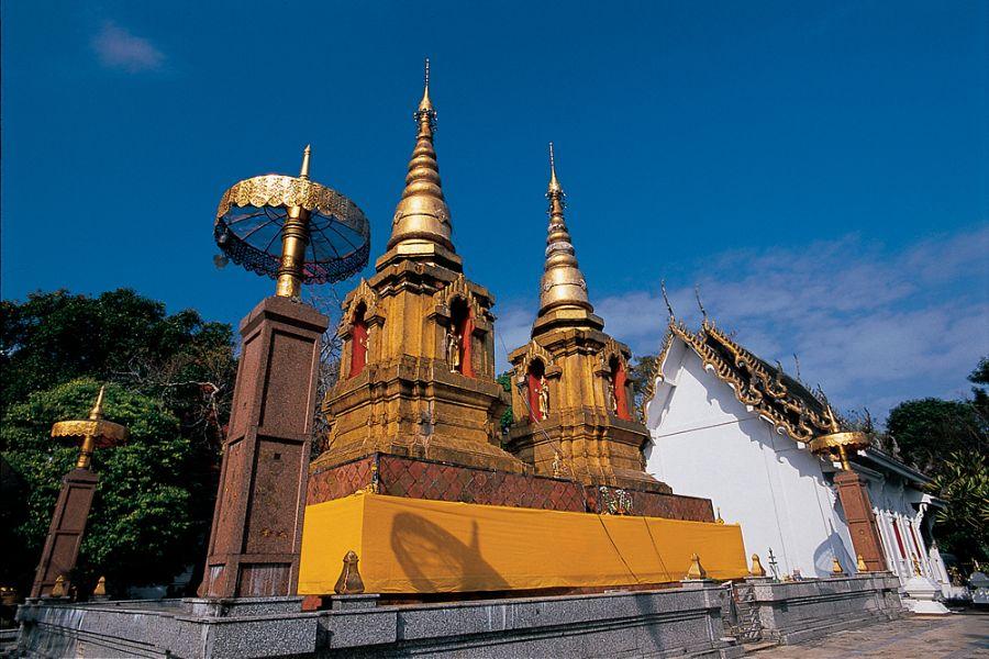 Tempel thailand Doi Tung Pra That Doi Tung