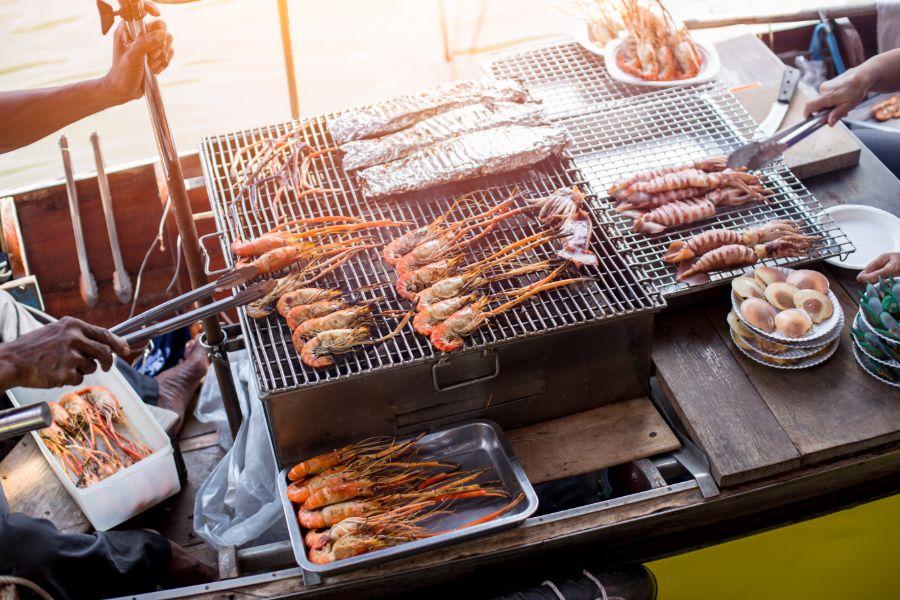 Thailand Amphawa Seafood