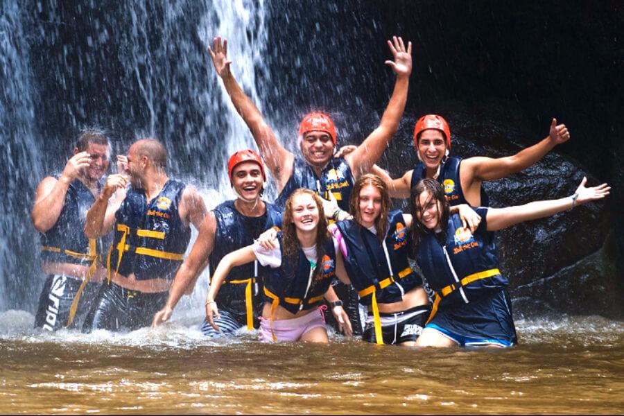 Thailand Bali Wild water raften Ayung 05