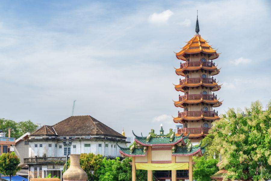 Thailand Bangkok Chee Chin Khor tempel en pagode