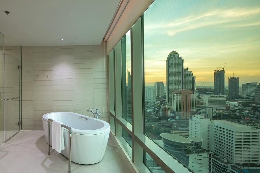 Thailand Bangkok Eastin Grand Hotel Sathorn Junior Suite Bathroom