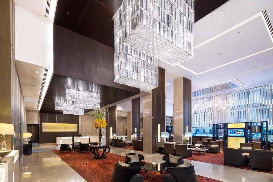 Thailand Bangkok Eastin Grand Hotel Sathorn Lobby