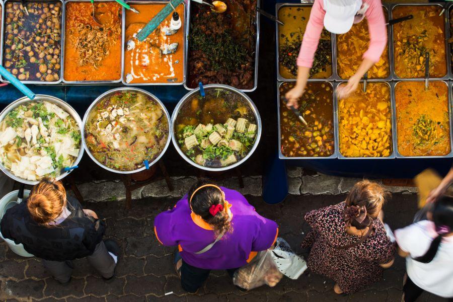 Thailand Bangkok Eten