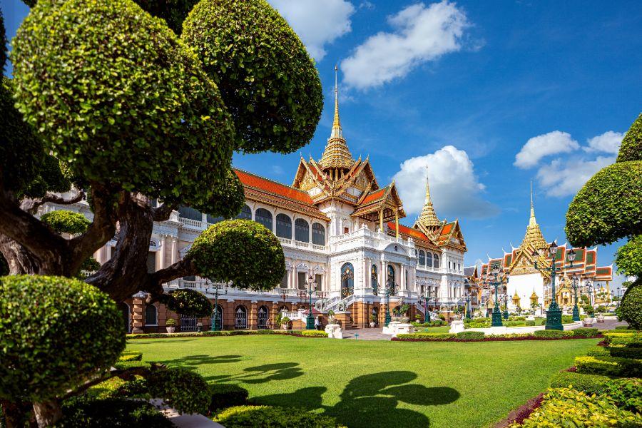 Thailand Bangkok Grand Palace koninklijk paleis