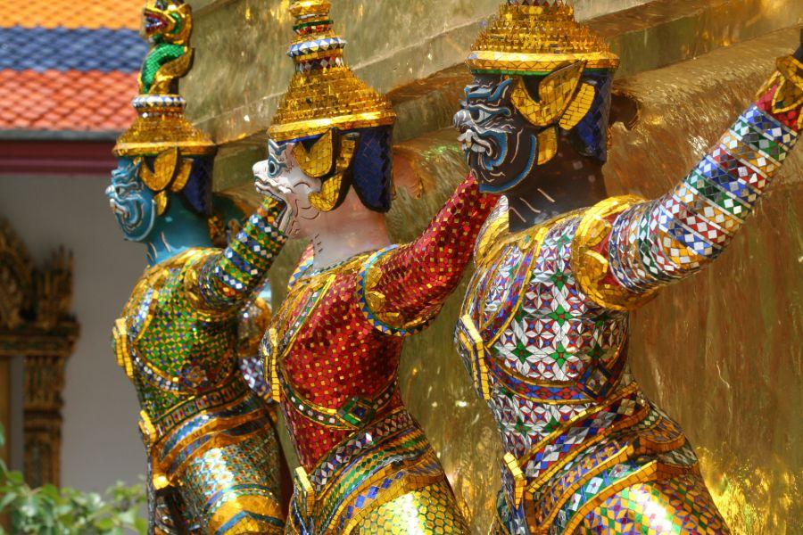 Thailand Bangkok Koninklijk Paleis