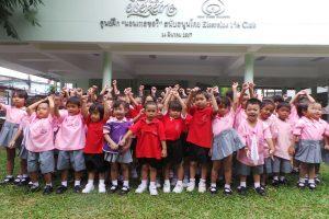 Blog artikel1 'Duang Prateep Slum Foundation, Lumpini Park en de Khlong Toei Markt'