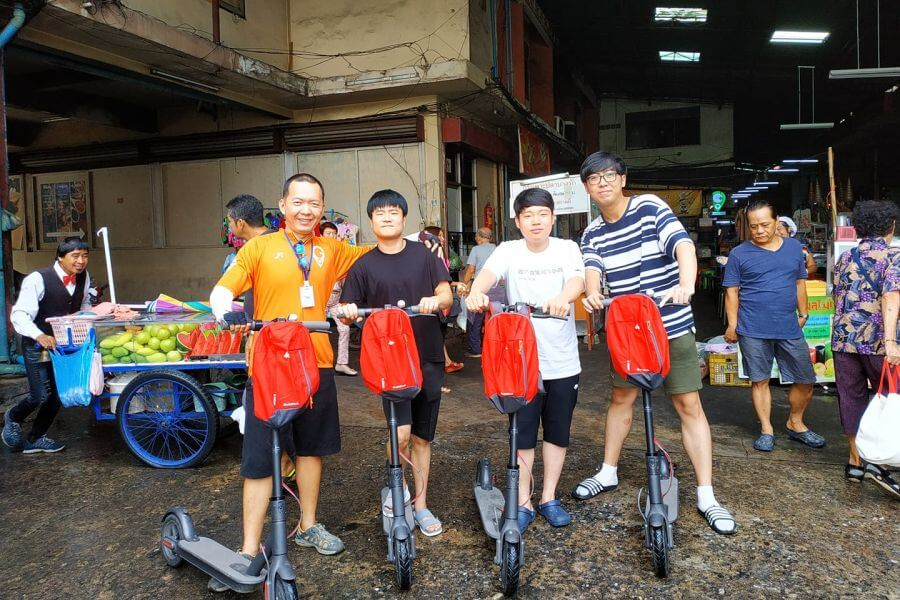 Thailand Bangkok escooter 08