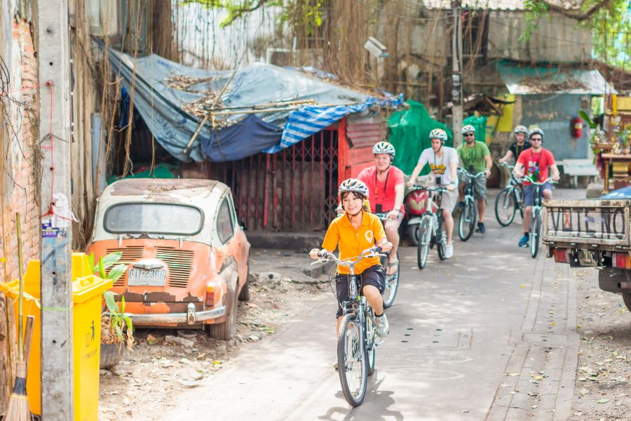 Thailand Bangkok fietsen GBB bike tour