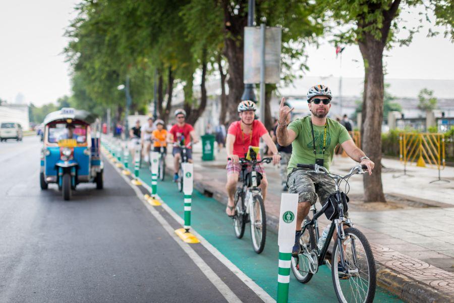 Thailand Bangkok fietsen GBB tour