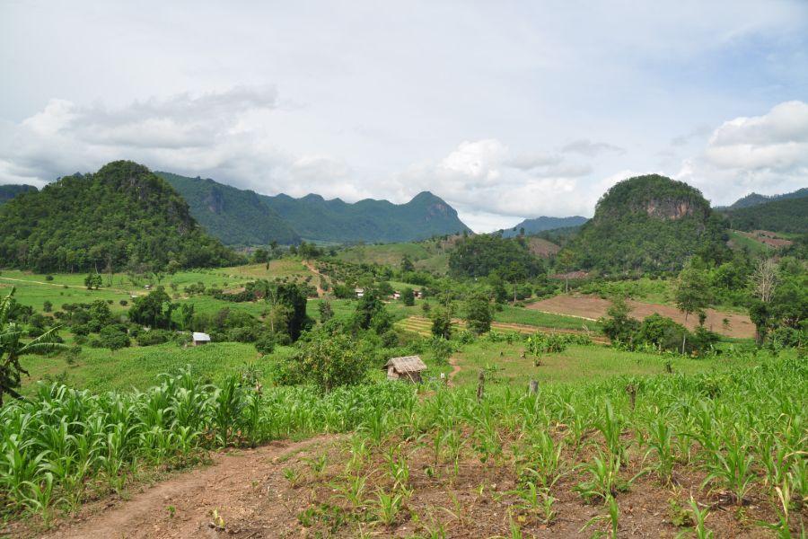 Dag 2: Mae Nam Ngat – Chiang Dao – 50 km