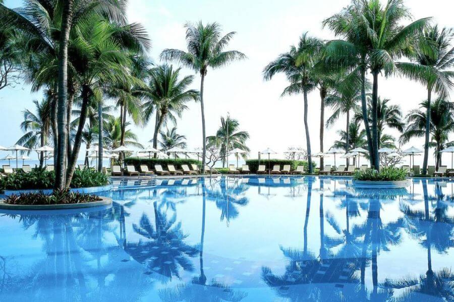 Thailand Hua Hin Centara Grand Beach Resort zwembad