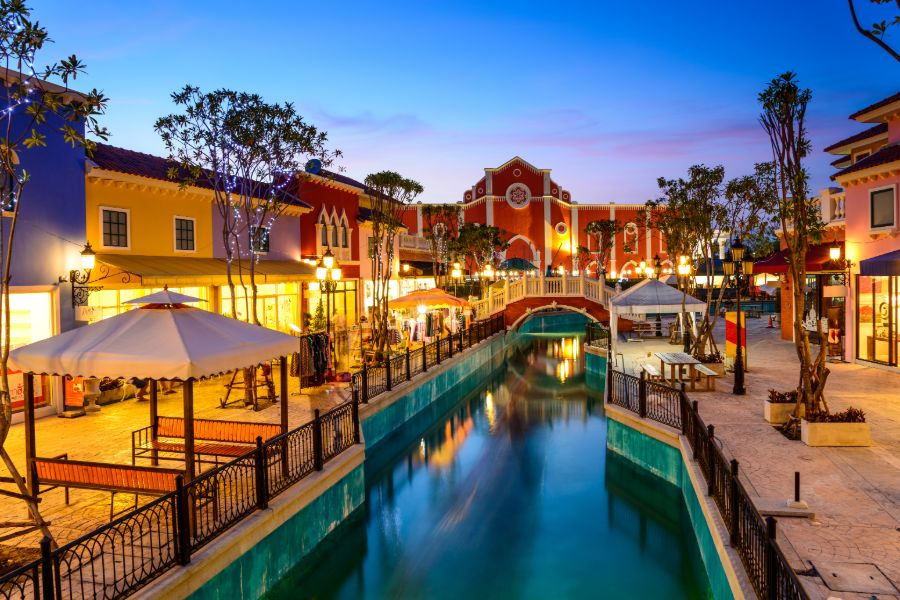 Thailand Hua Hin Cha am Venezia centrum winkelen
