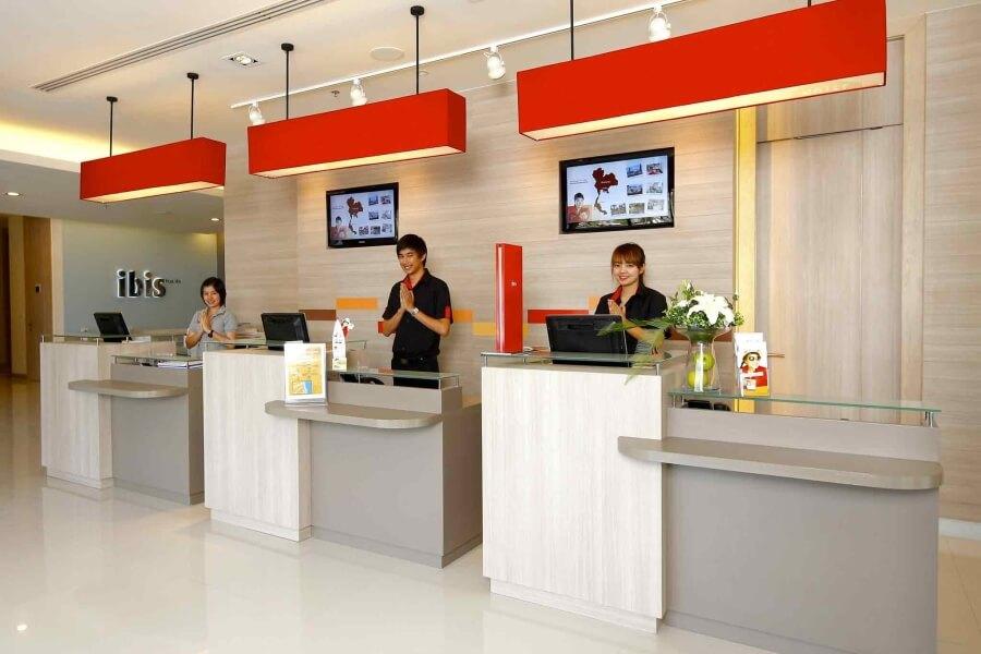 Thailand Hua Hin Ibis Hua Hin hotel Receptie
