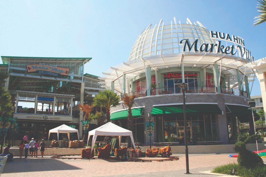 Thailand Hua Hin centrum Market Villa