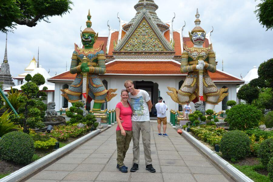 Thailand Huwelijksreis Bangkok Wat Arun
