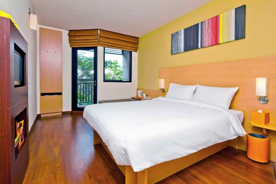 Thailand Ibis Hua Hin Kamer standaard dubbel room hotelkamer