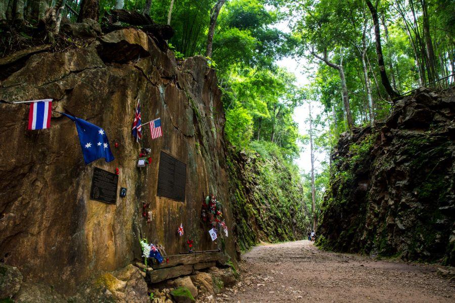 Thailand Kanchanaburi Hell Fire Pass Memorial