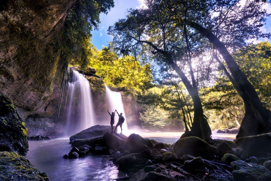 Thailand Khao Yai Nationaal Park Heo Suwat waterval