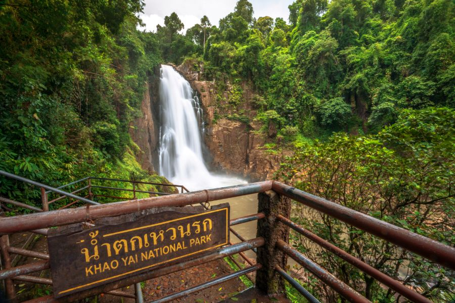 Thailand Khao Yai Nationaal Park Waterval