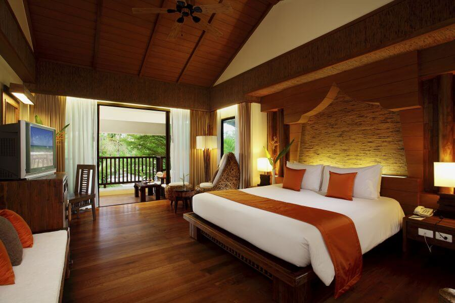 Thailand Koh Chang Centara Tropicana Resort Deluxe room kamer