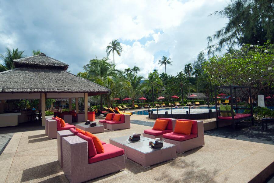 Thailand Koh Chang Centara Tropicana Resort zwembad 1