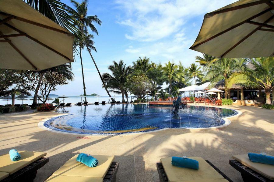 Thailand Koh Chang Centara Tropicana Resort zwembad