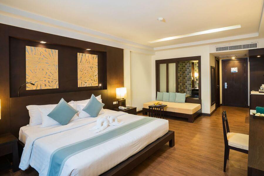 Thailand Koh Chang KC Grande Resort Garden Deluxe View room kamer