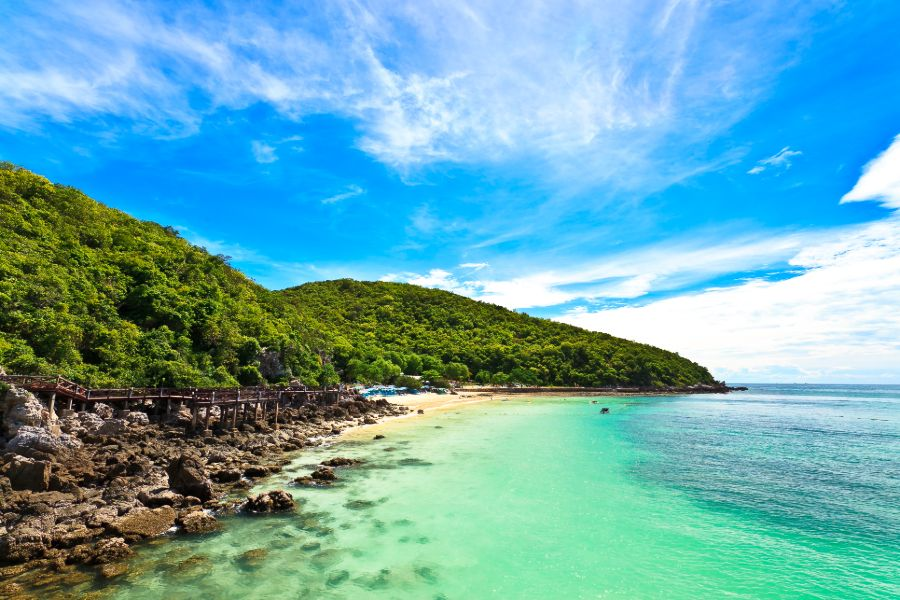 Thailand Koh Chang eiland strand