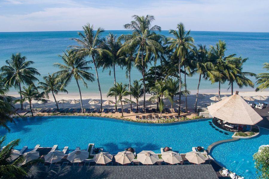 Thailand Koh Chang resort aan het strand