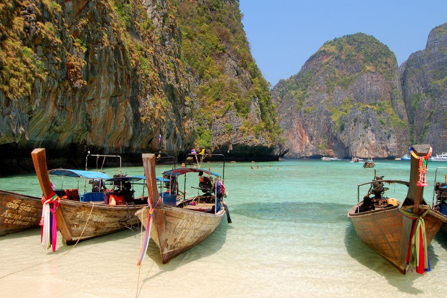 Thailand Koh Phi Phi Boottocht