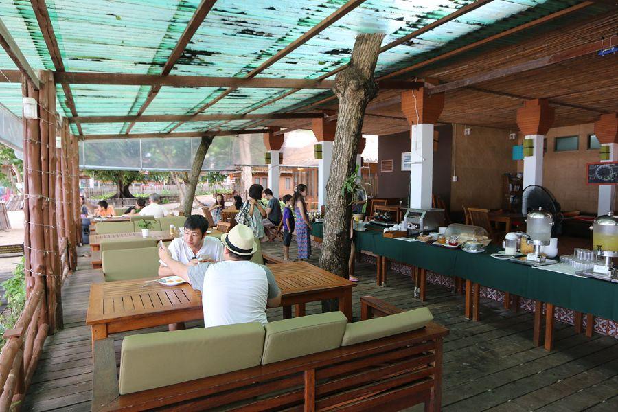 Thailand Koh Samet Samed Cabana Resort restaurant ontbijt