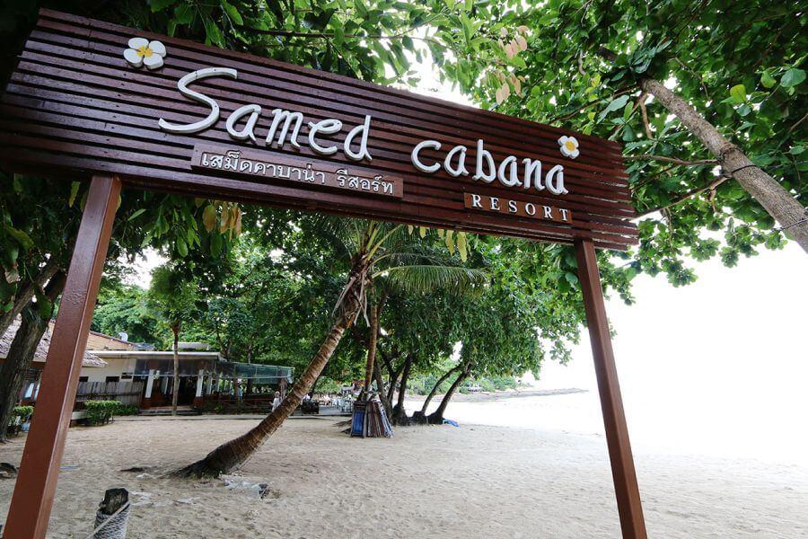 Thailand Koh Samet Samed Cabana Resort strand eiland
