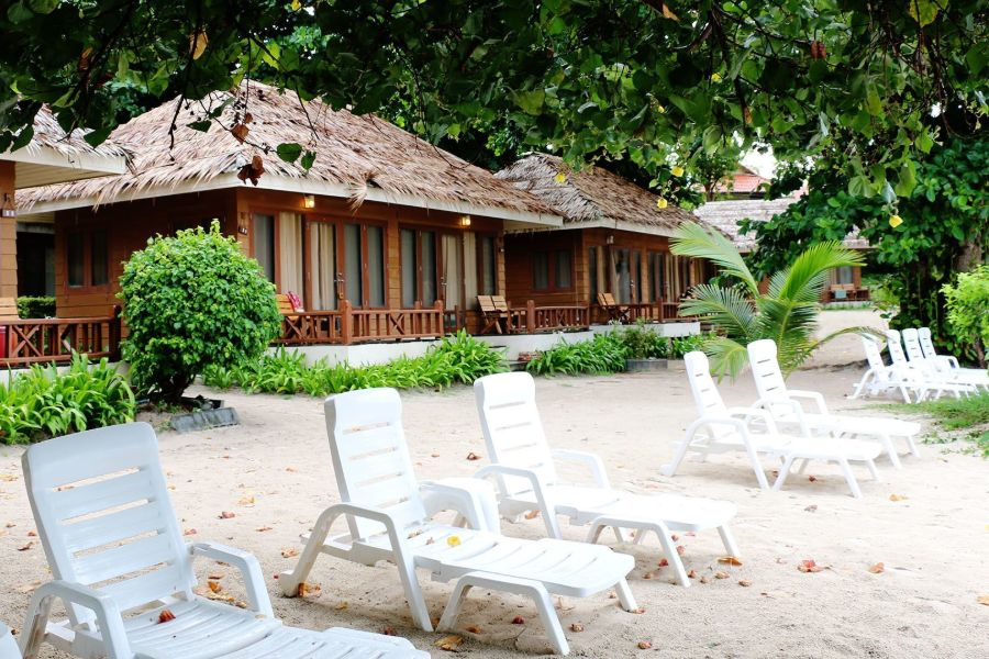 Thailand Koh Samet strand eiland Samed Cabana Resort zeezicht kamers