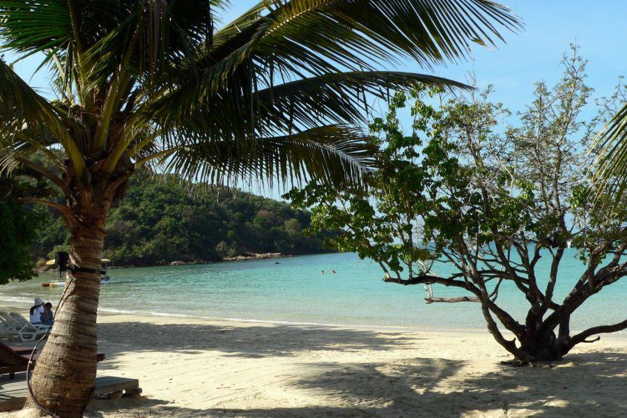 Thailand Koh Samet strand eiland palmbomen zee