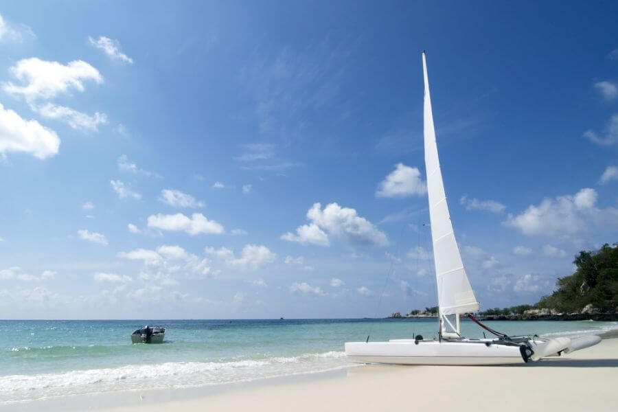 Thailand Koh Samet strand eiland zeilboot