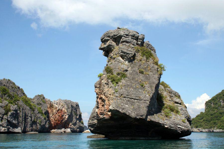 Thailand Koh Samui Ang Thong National Marine Park eiland zee