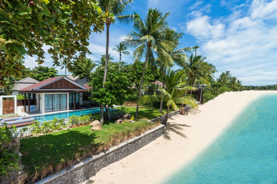 Thailand Koh Samui Hotel Peace Resort Koh Samui Huisje aan strand