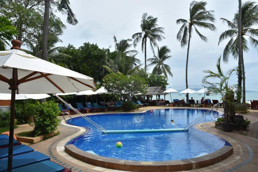 Thailand Koh Samui Lawana Resort Koh Samui zwembad