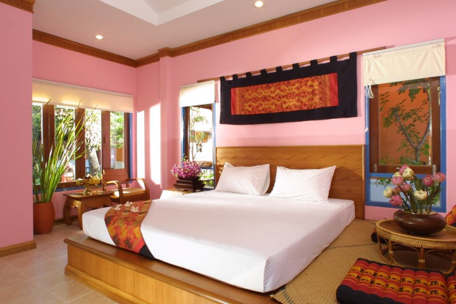 Thailand Koh Samui Lawana Resort bungalow kamer