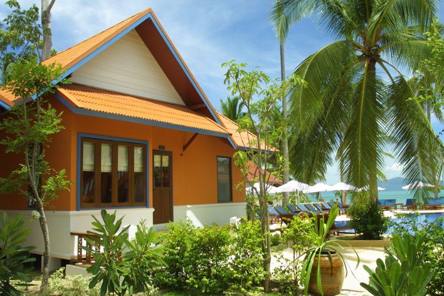 Thailand Koh Samui Lawana Resort bungalow zwembad
