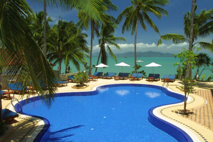 Thailand Koh Samui Lawana Resort zwembad 2