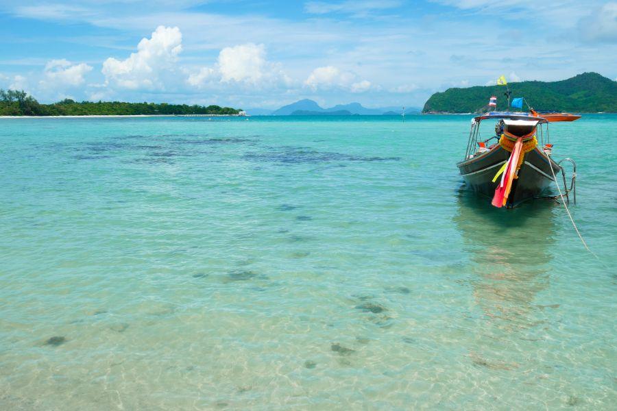 Thailand Koh Tan Longtailboat