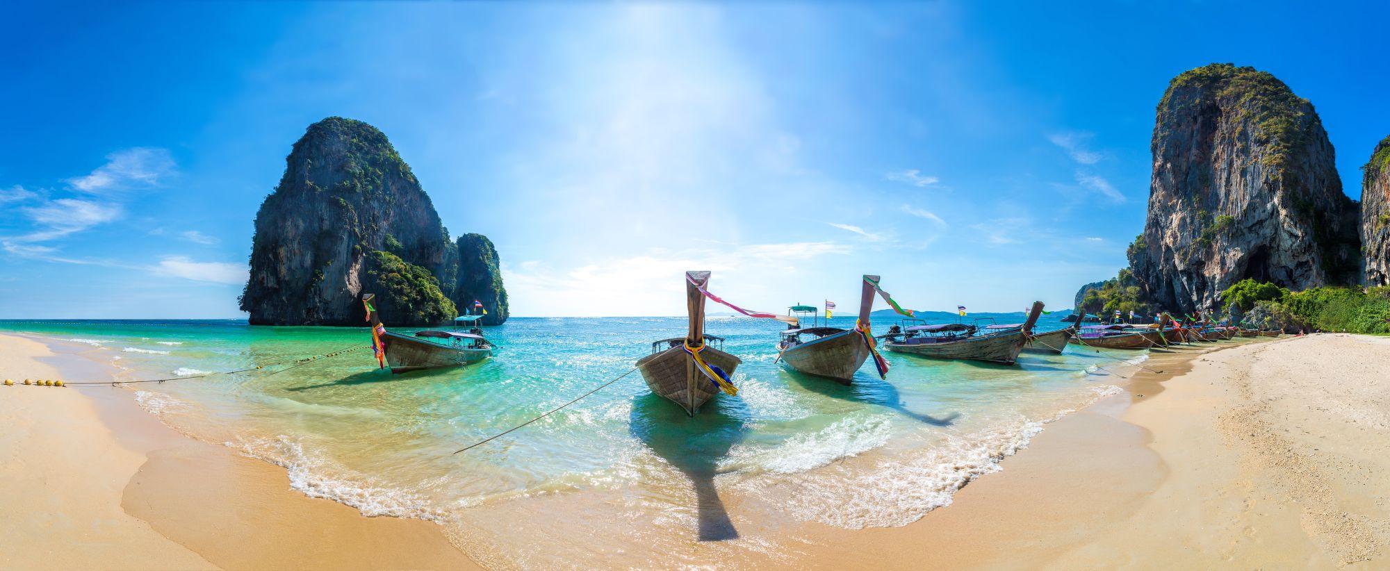 Thailand Krabi Ao Phra Nang beach