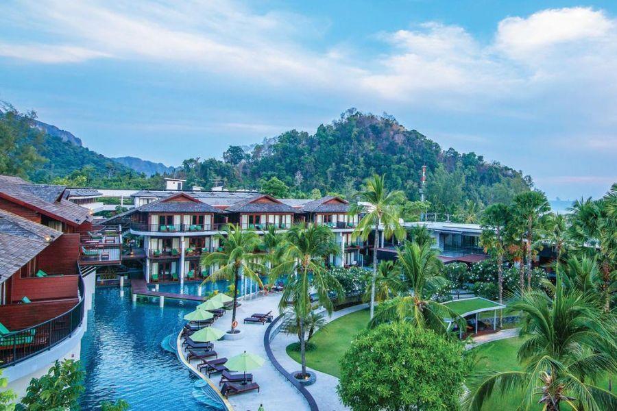 Thailand Krabi Holiday Inn Resort zwembad